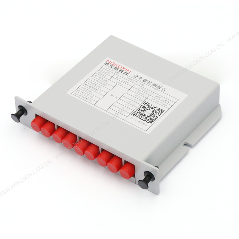 FC UPC 1*8 PLC Splitter card insertion type