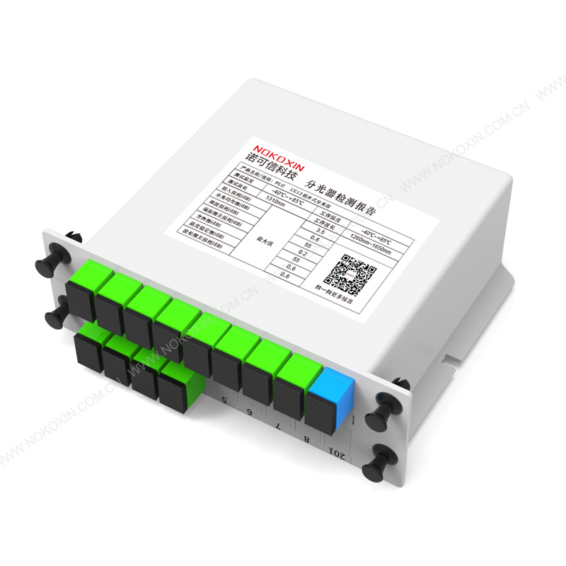 SC APC 1*12 PLC Splitter card insertion type