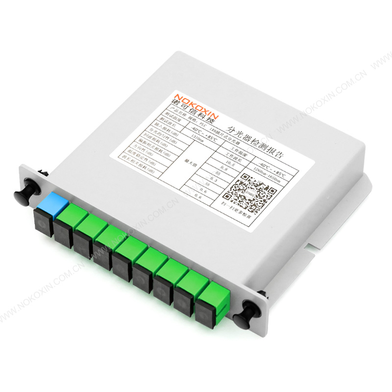 SC APC 1*8 PLC Splitter card insertion type
