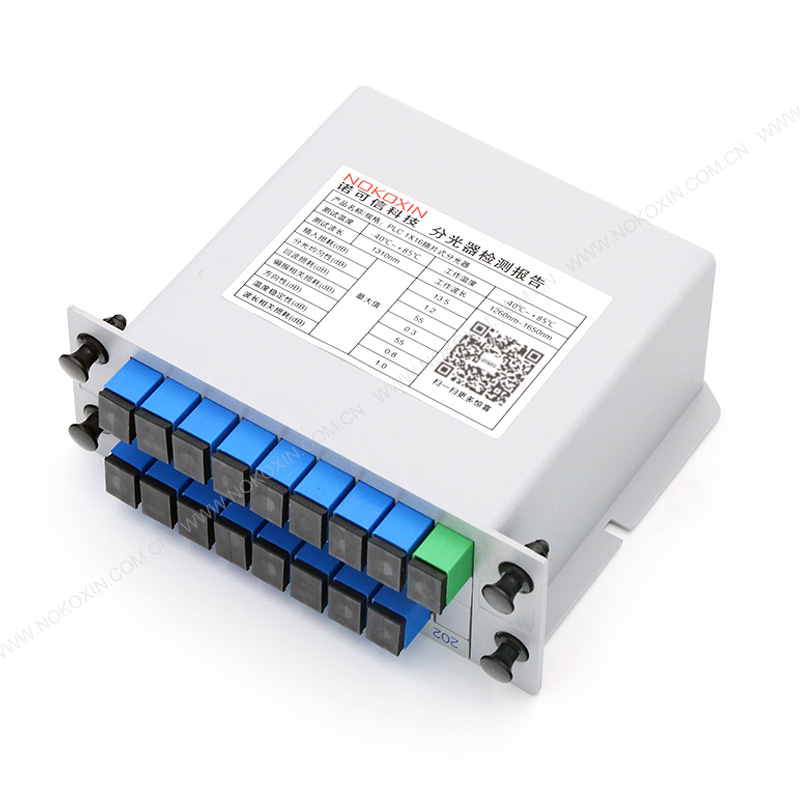 SC UPC 1*16 PLC Splitter card insertion type