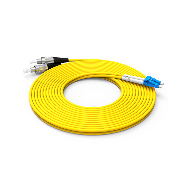 Fiber Optic Patch Cord Single mode LC FC patch cord duplex