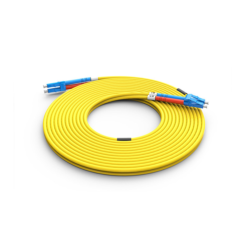 Fiber Optic Patch Cord, LC LC duplex optical patch cord sm single mode