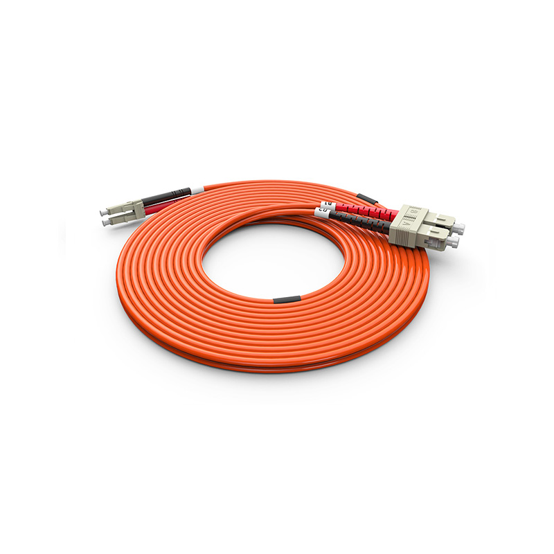 Fiber Optic Patch Cord, SC LC duplex optical patch cord mm OM1 OM2