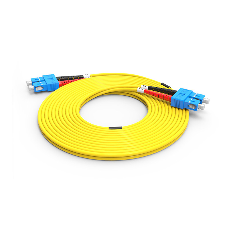 Fiber Optic Patch Cord, SC SC optical patch cord sm single mode duplex