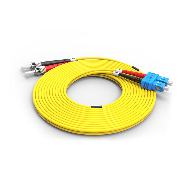 Fiber Optic Patch Cord, SC ST duplex optical patch cord sm single mode