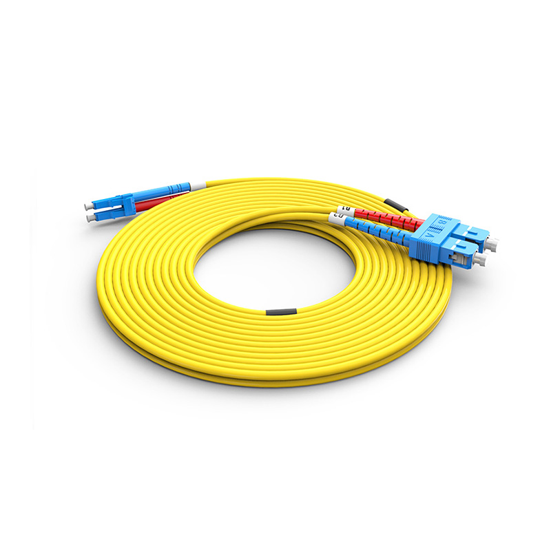 Fiber Optic Patch Cord, SC LC duplex optical patch cord sm single mode