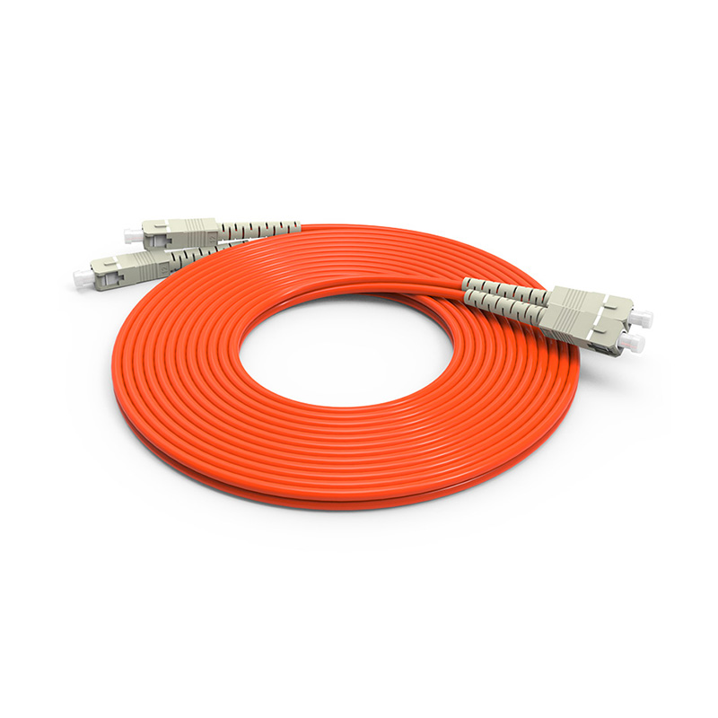 SC Fiber Optic Patch Cord, Optical Patch cord SC SC OM1 OM2