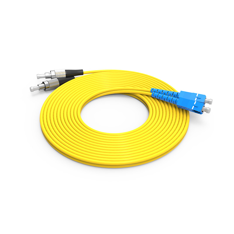 Fiber Optic Patch Cord Single mode SC FC patch cord duplex