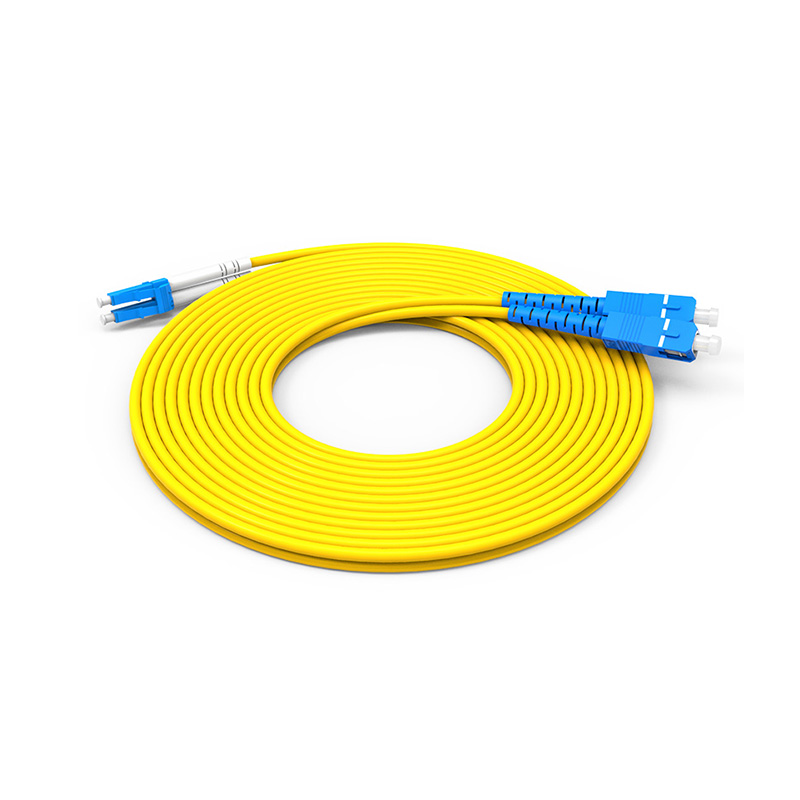 Fiber Optic Patch Cord Single mode SC LC patch cord duplex