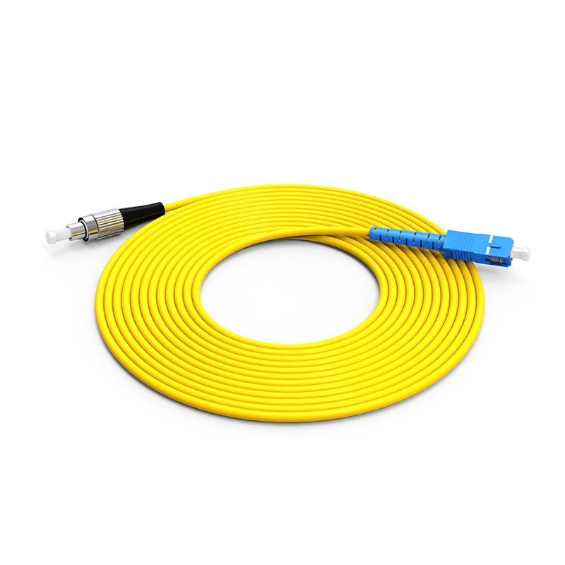 Fiber Optic Patch Cord Single mode SC FC patch cord simplex