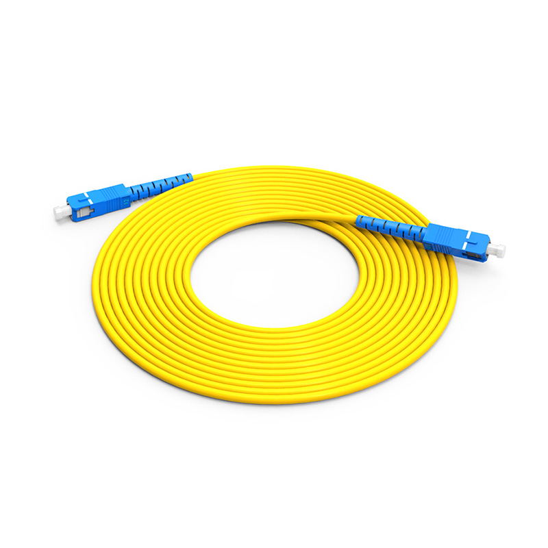 Fiber Optic Patch Cord Single mode SC SC patch cord simplex