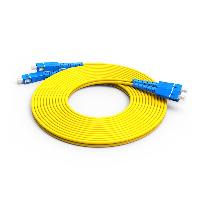 Fiber Optic Patch Cord Single mode SC SC patch cord duplex