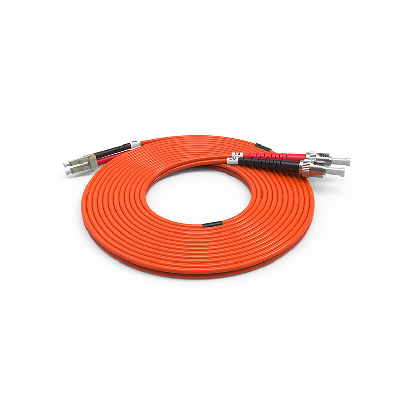 Fiber Optic Patch Cord, ST LC duplex optical patch cord mm OM1 OM2