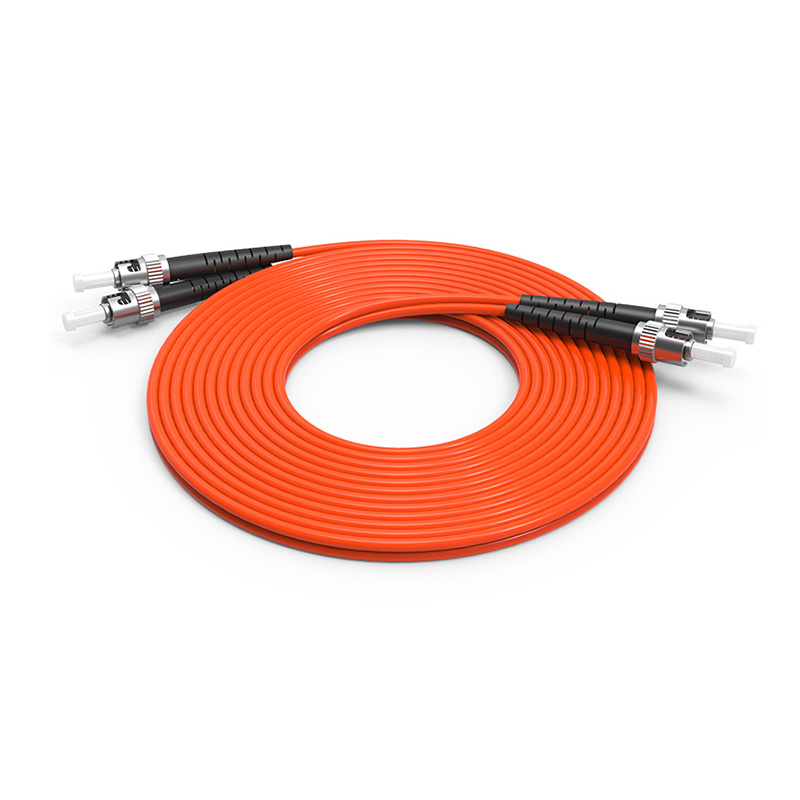 ST Fiber Optic Patch Cord, Optical Patch cord ST ST OM1 OM2