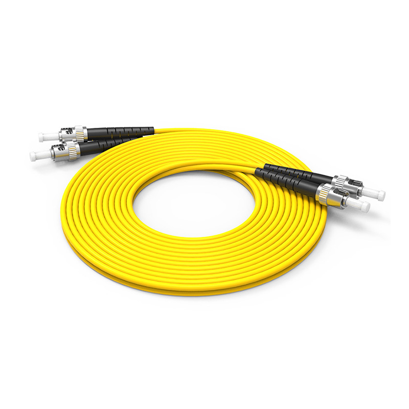 Fiber Optic Patch Cord Single mode ST ST patch cord duplex